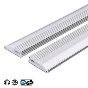 ETL Listed 2ft 7W Showcase Wardrobe Dimmable Super Bright Recessed Aluminum T5 Under Cabinet Led Lighting Slim Light Bar Fixture