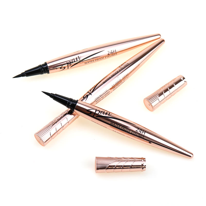 OEM Factory Makeup Cosmetics New Style Private Label Waterproof Long Lasting black Liquid Eyeliner