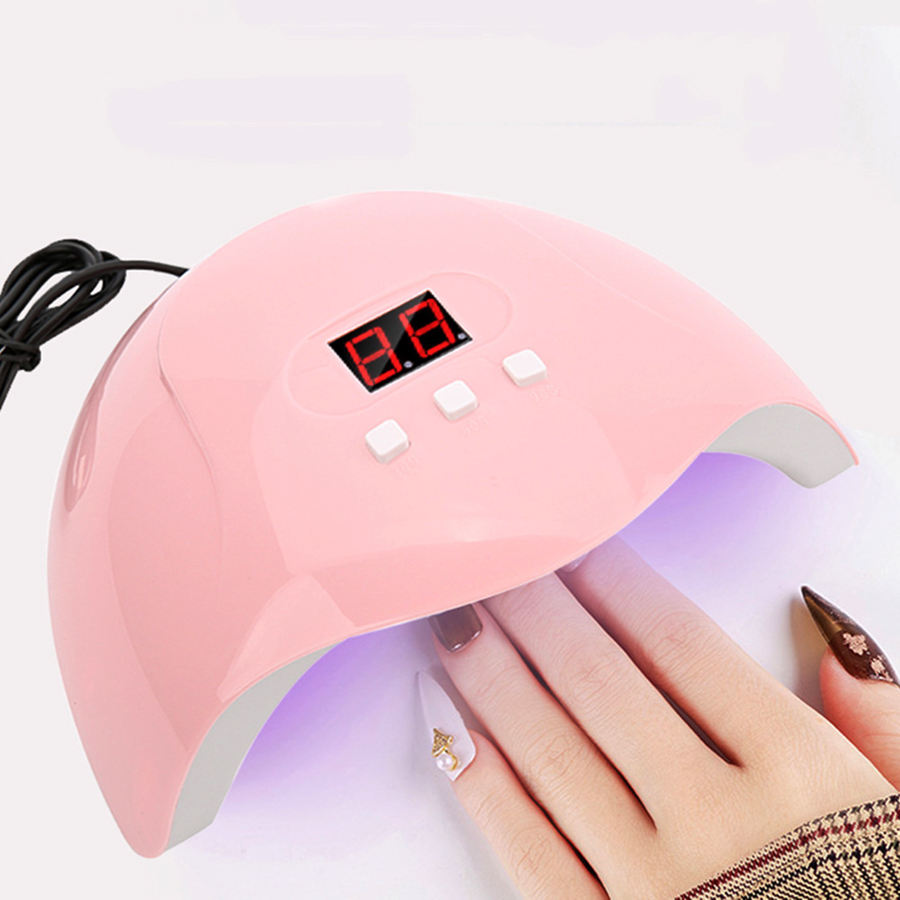 Led Smart Professional Nail Tool 54W Curing Finger Dryer Charging Led Nail Lamp Led Nail Lamp Dryer