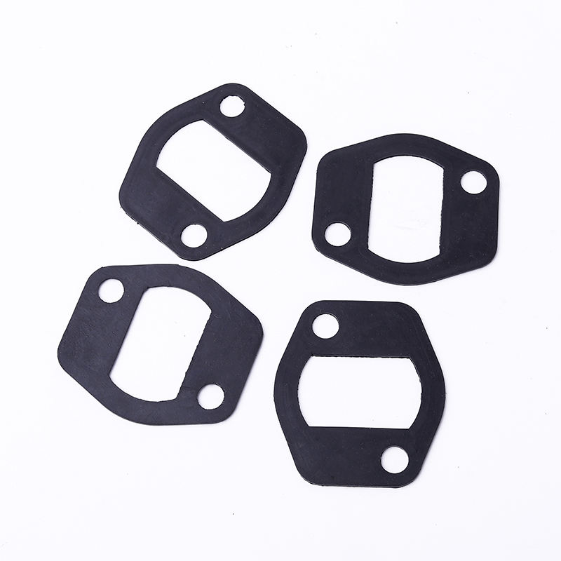 Manufacturer Supplied Customized Food Grade Flat Silicone Rubber Gasket