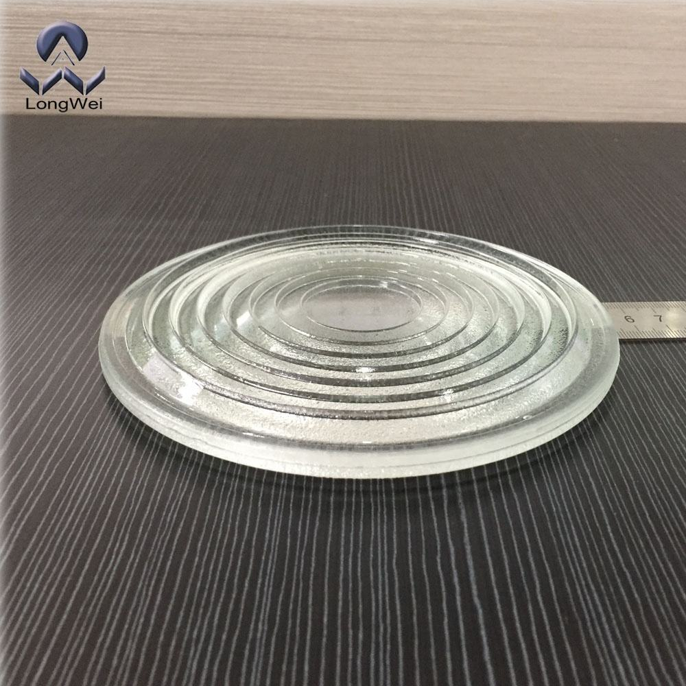 Diameter 150mm tempered borosilicate glass fresnel lens for studio lamp,LED stage light