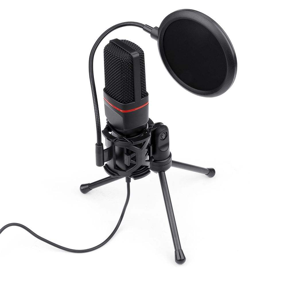USB Gaming Streaming Microphone Connect to Pc Mic for Computer Gamer