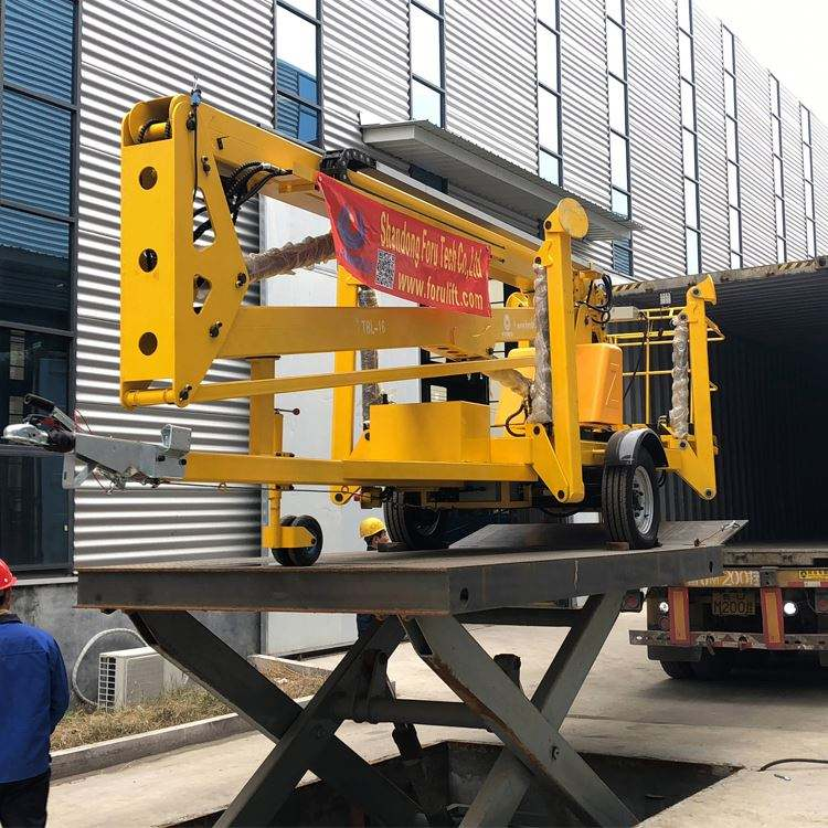 Wholesale 50M Self Propelled 4Wd Boom Lift