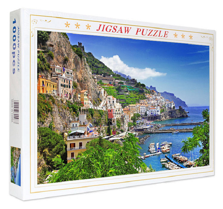 1000pcs Beach Jigsaw Puzzle Games Educational Toys 3D Educational Toys jigsaw puzzle for adults
