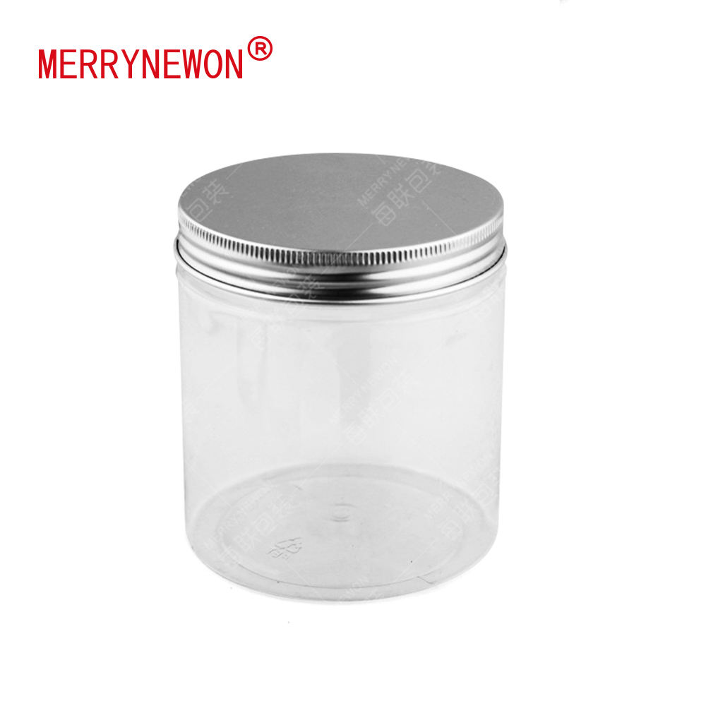 500g 89102mm 500ml tall duidelijke potten smaak ingeblikt pet food jar pet met aluminium cap