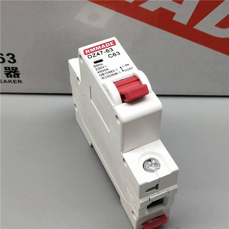 N 4.5Ka 230V Disjoncteur Disjoncteur 6A 10A 16A 25A 32A 40A Dpn 1P