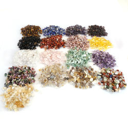 Wholesale natural stone beads  Healing crystal  rock stone chip for decoration