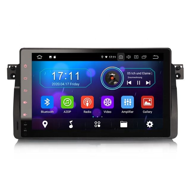 Erisin ES6996B Android Car Dvd Player Với 4 Gam WiFi DAB TPMS GPS Cho BMW E46 M3