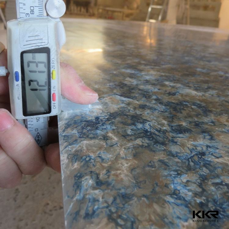 UPR acrylic solid surface artificial marble acrylic resin stone artificial marble stone slab(for interior decoration)
