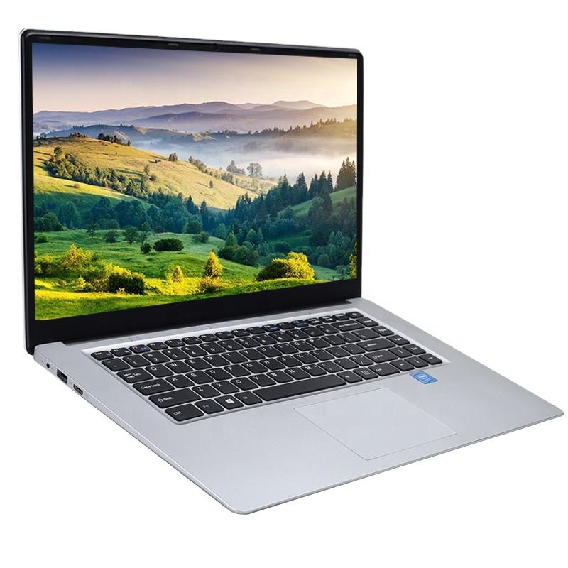 15.6 inch Student Laptop 8GB RAM 256GB512GB SSD cheap Notebook For intel J3455 Quad Core Ultrabook