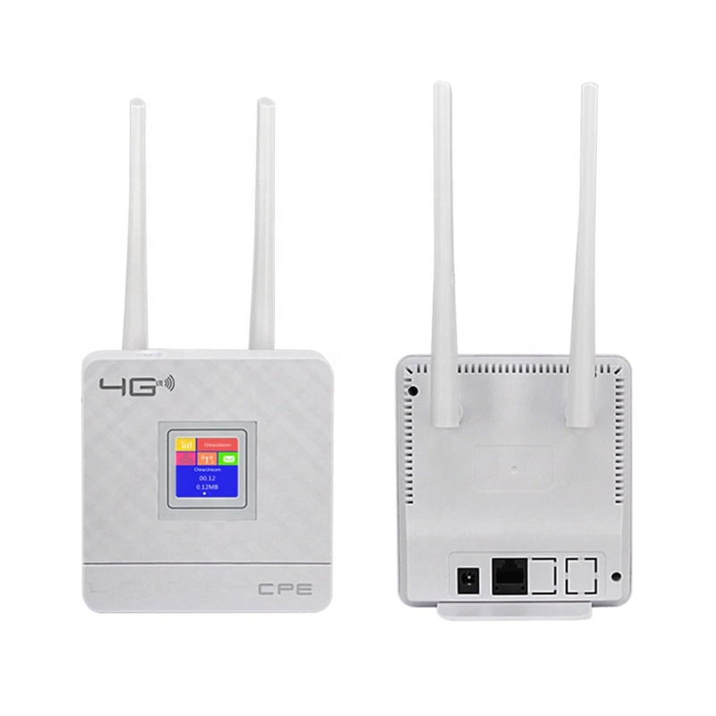 CAT4 RJ45ポート4G LTE CPE Wifi Wireless Router Stronger Signal Ethernet Port Insert SIM Card