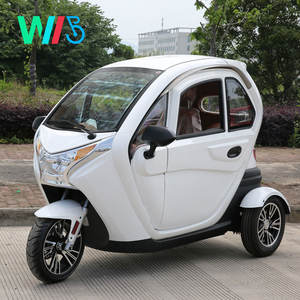 Motorcycle Truck 3-Wheel Tricycle/Enclosed 3 Wheel Electric Car with 2-3 Passenger Seats/Adult Motorcycle Price