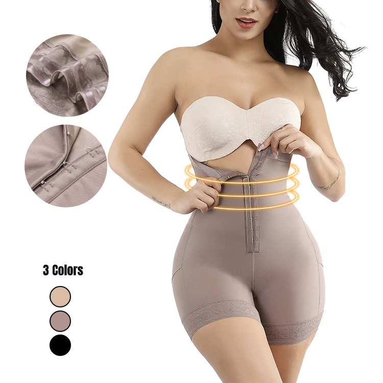 Shapers Cueca Plus Size Preto Sem Costura Pad Butt Lift Cintura Alta Butt Enhancer Ganchos Shapewear Para As Mulheres Shaper Do Corpo