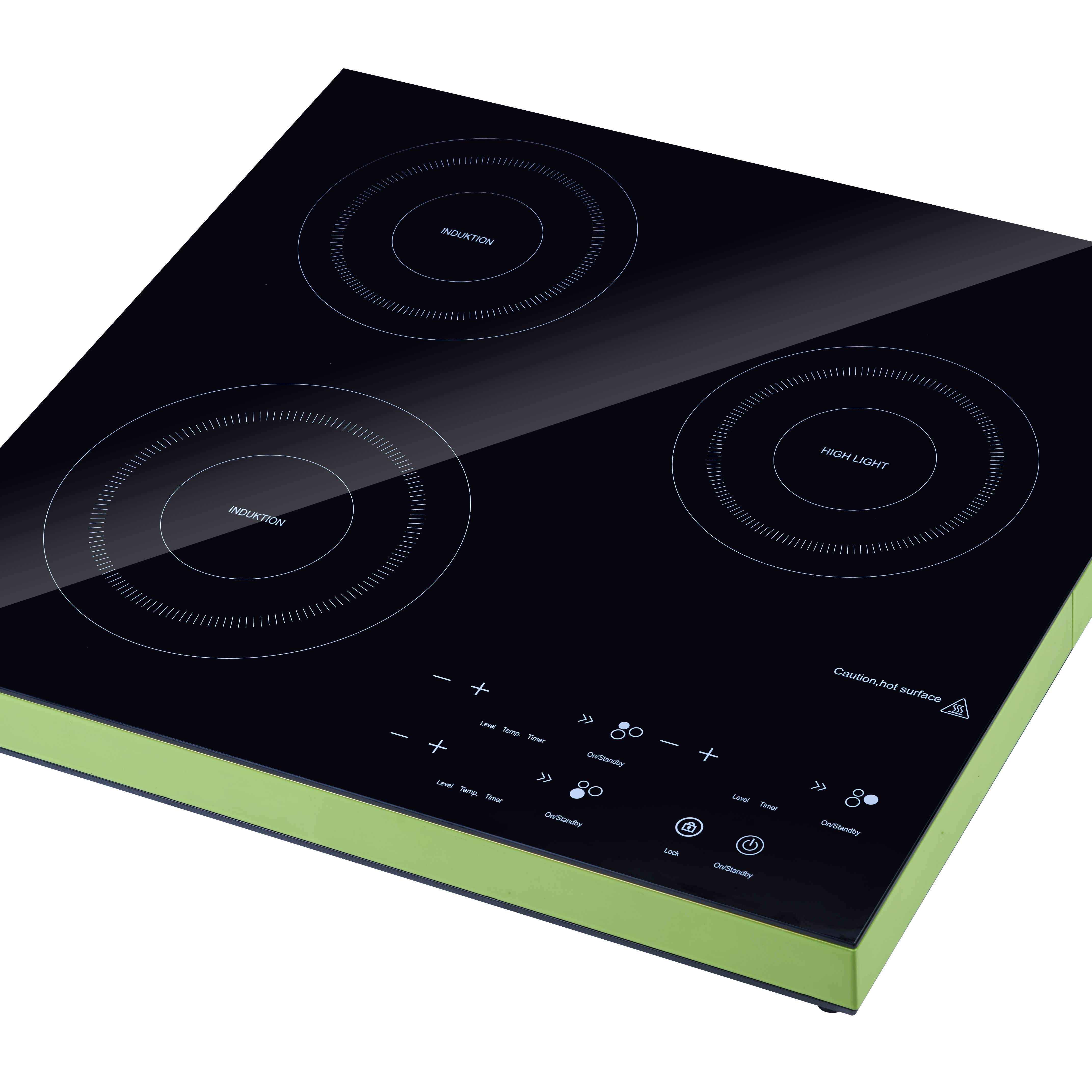 Lower Price 3 Burner Hob Elecftric 3.5KW Induction cooktop Induction counter top cooker hob