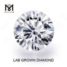 brilliant cut synthetic diamond DEF VS2 1carat lab grown diamond price per carat