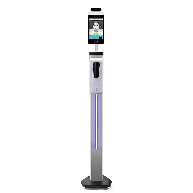 Automatic Hand Sanitizer Machine Dispenser Stand Instant Smart Security Devices Walk Through Temperature Scanner