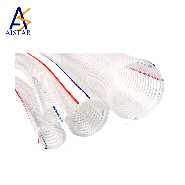 2020 hot sale Varied sizes of Transparent Braided PVC Hose
