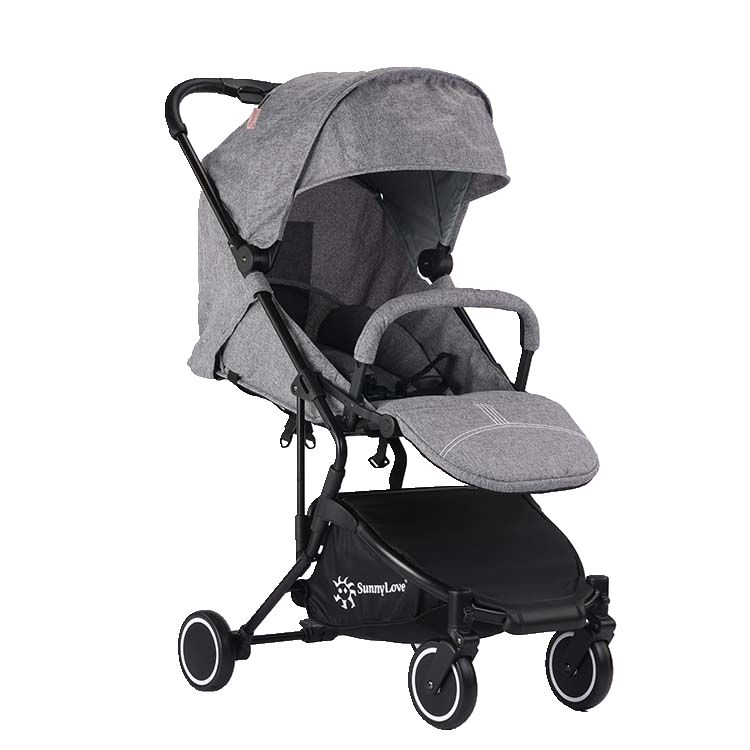 EN1888 wholesale good quality cheap baby pram self standing after folding aluminium frame light baby stroller