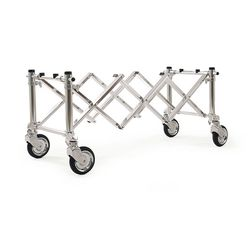 Casket and coffin foldable funeral trolley for burial, View casket and coffin