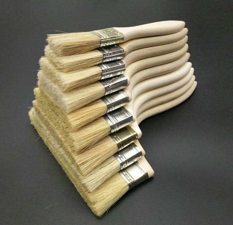 wooden Handle Wall Paint Brush Cheap Paint Brush