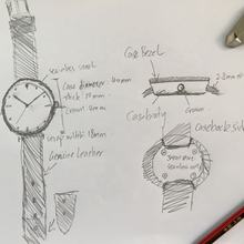 Creat your own watch brand on kickstarter
