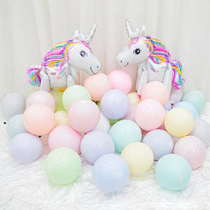 Fabriek Promotie 12 Inch 3.2G Party Decoration100piece Multi Kleur Macaron Ballonnen Latex Ballon