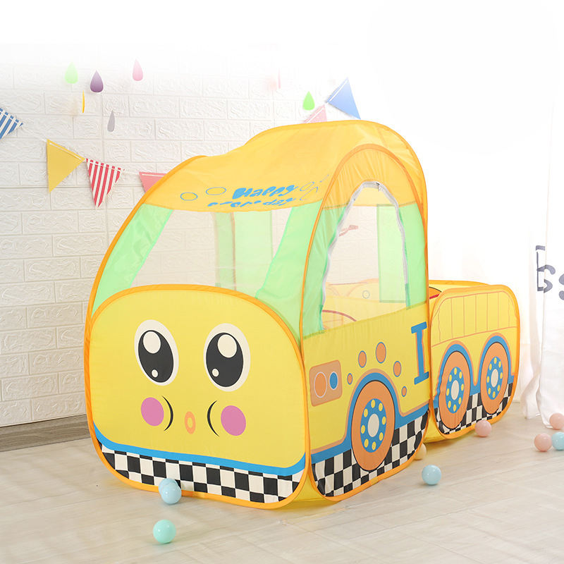 2020 new Children's indoor multi-function cartoon train tent