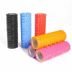 Leg Muscle Yoga Roller Custom Colour EVA Foam Roller or cork yoga roller Yoga
