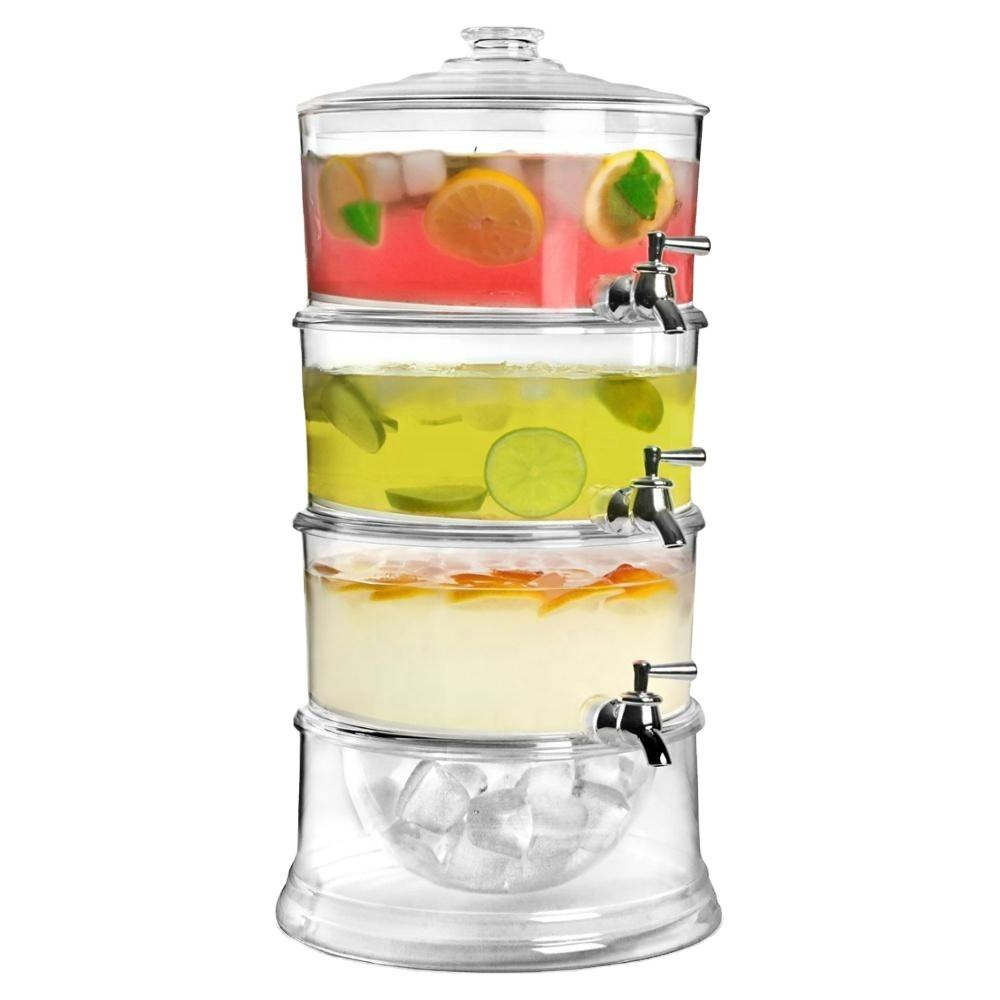 10.5L Large cold juice dispenser with ice core
