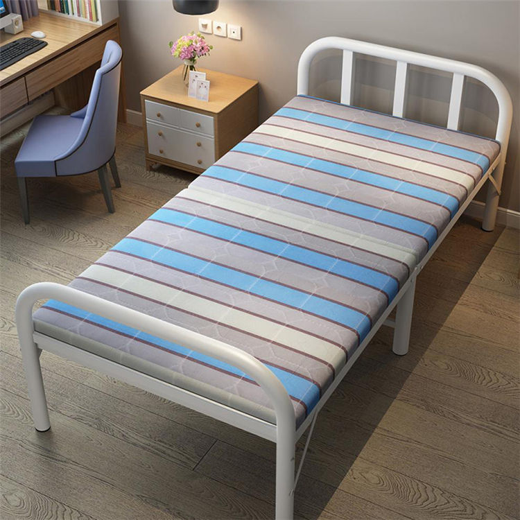 Factory Direct Cheap Portable Metal Iron Steel Wrought Single hospital Bed For Sale