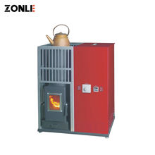 ZLFS02 Automatic Smokeless Eco Biomass Cook Wood Hydro Pellet Stove