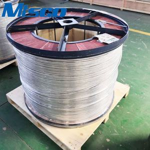 Wholesale inconel 825 coiled tubing seamless stainless steel tubing for control line tubing in oil