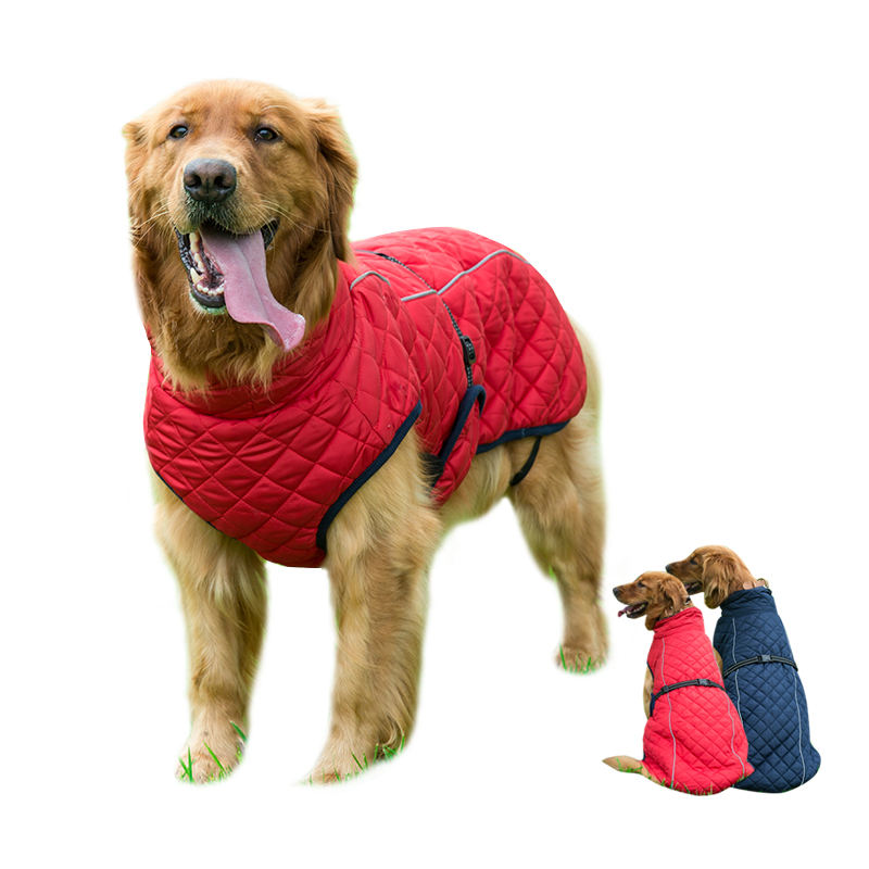 Super warm heated pet coat low price dog coat for big dogs