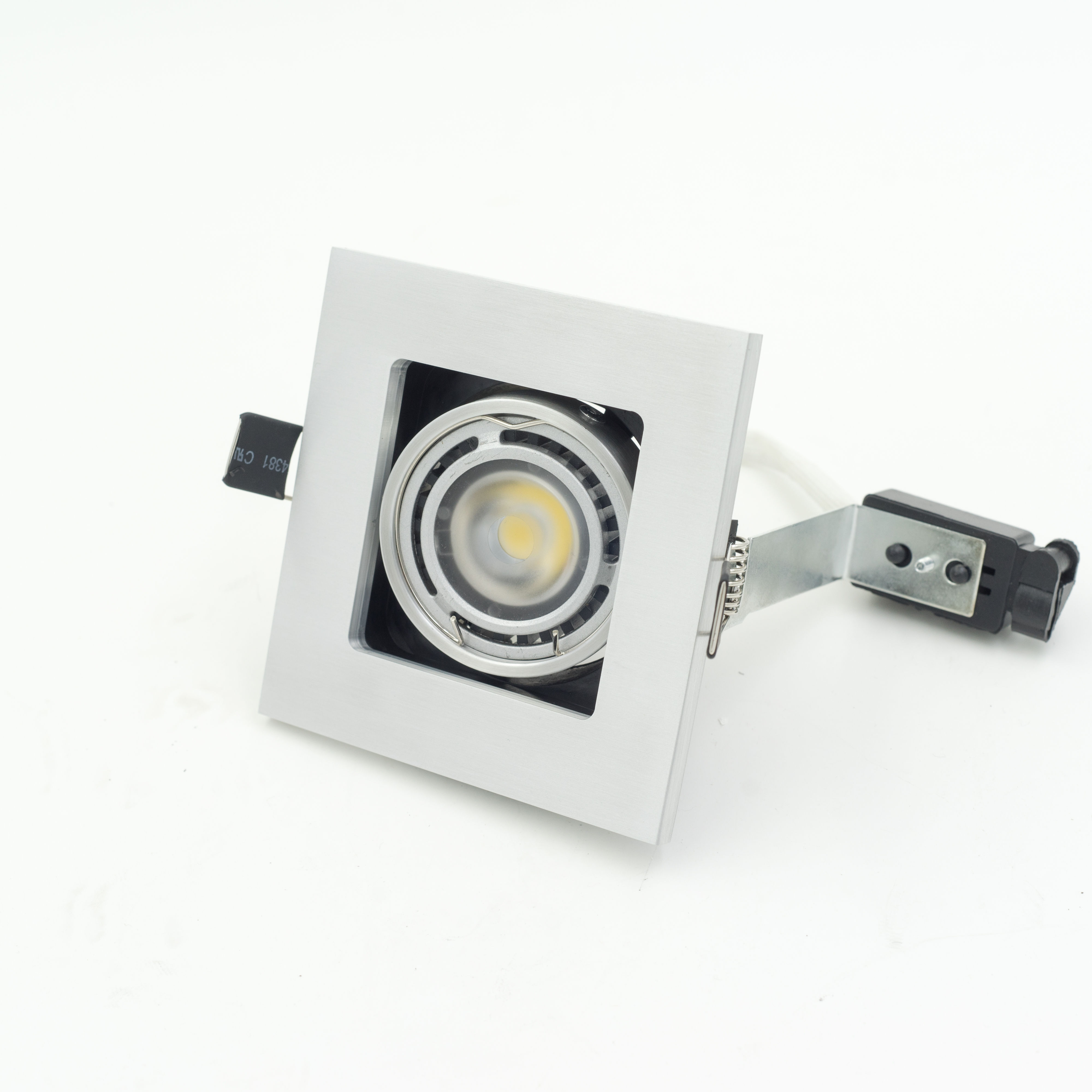 Hot Product LED Downlight Square Embedded COB Grille LED Light Adjustable In Vertical Square Down Light