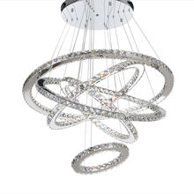 MEEROSEE CE Approval Led Pendant Lamp Crystal Chandelier MD8825-35678