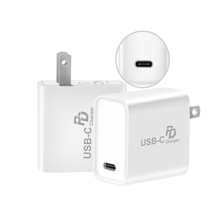 USB C Wall Charger with 18W Power Delivery 3.0, Ultra-Slim USB PD Charger for iPhone Xs/Xs Max/XR, for Google Pix 3