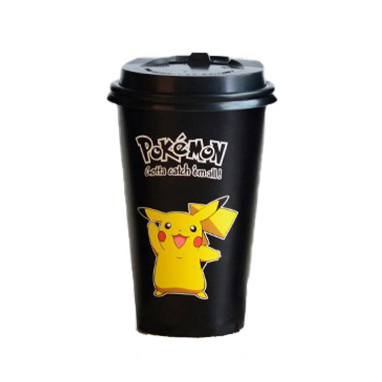 High sale demand product custom logo printed disposable double PE coated paper cup