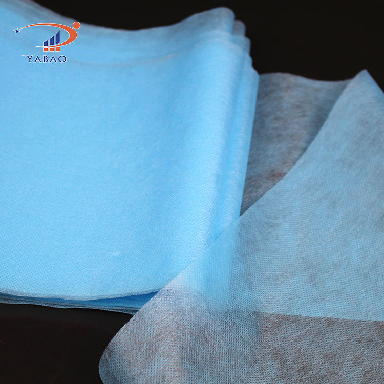 Wholesale 3ply non woven fabrics mask production raw materials