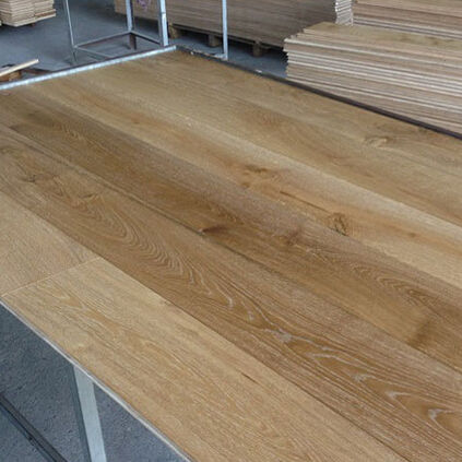 3 layer/Multilayer Ontworpen Gerookte Wit Eiken Parket Hout Hout 3 layer Vloeren