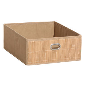Household Bamboo Storage Basket Stackable Drawers for Sundries
