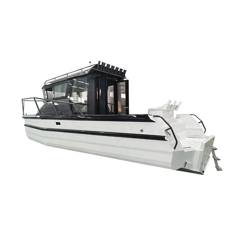 6~8m Sport Center Cabin Commercial Fishing Boat Aluminum Boat Made in China