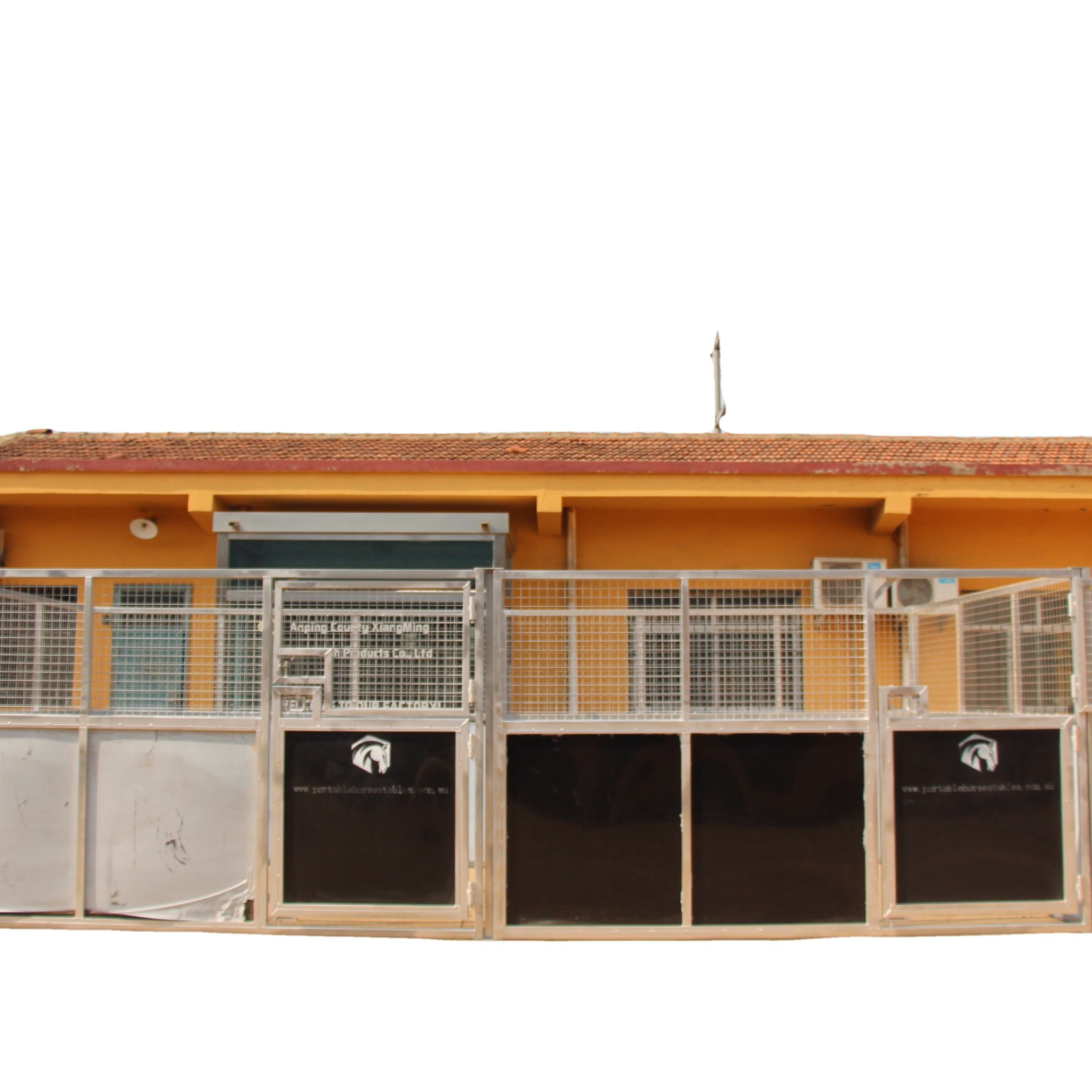safe and strong Australian standard portable galvanized horse stable panel stall house equipment