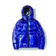 Shiny puffer jacket men winter minus jacket stab proof jacket