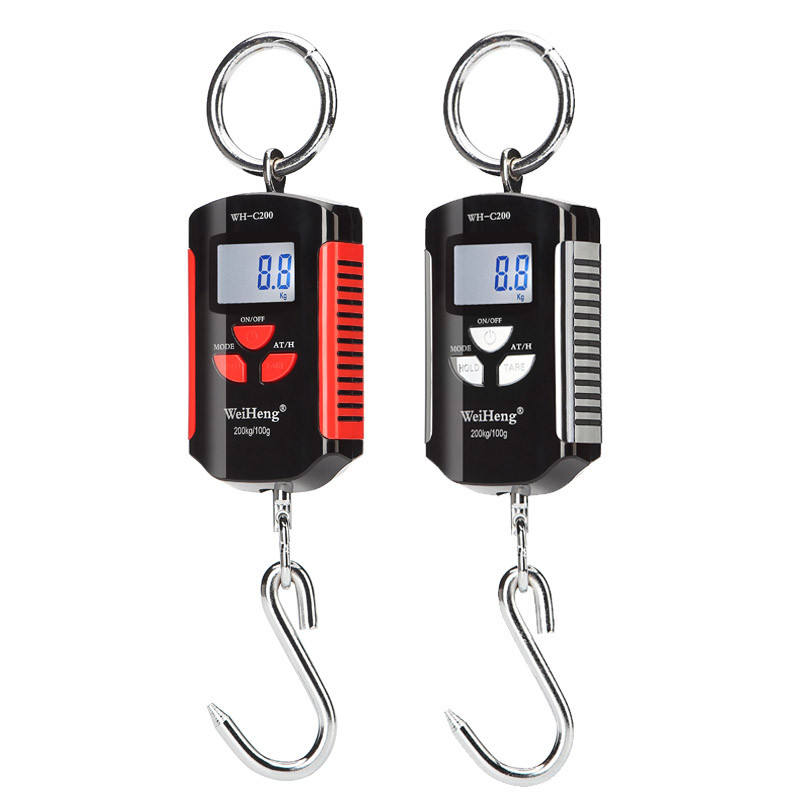 Mini Portable Hanging Crane Digital Heavy Duty 200kg/100g Industrial Hook Electronic Weighing Balance Scale