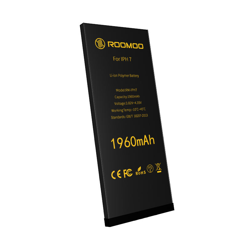 rohs ce fcc new battery 0 cycle lithium replacement msds for blackberry battery 1960mAh for iphone7G