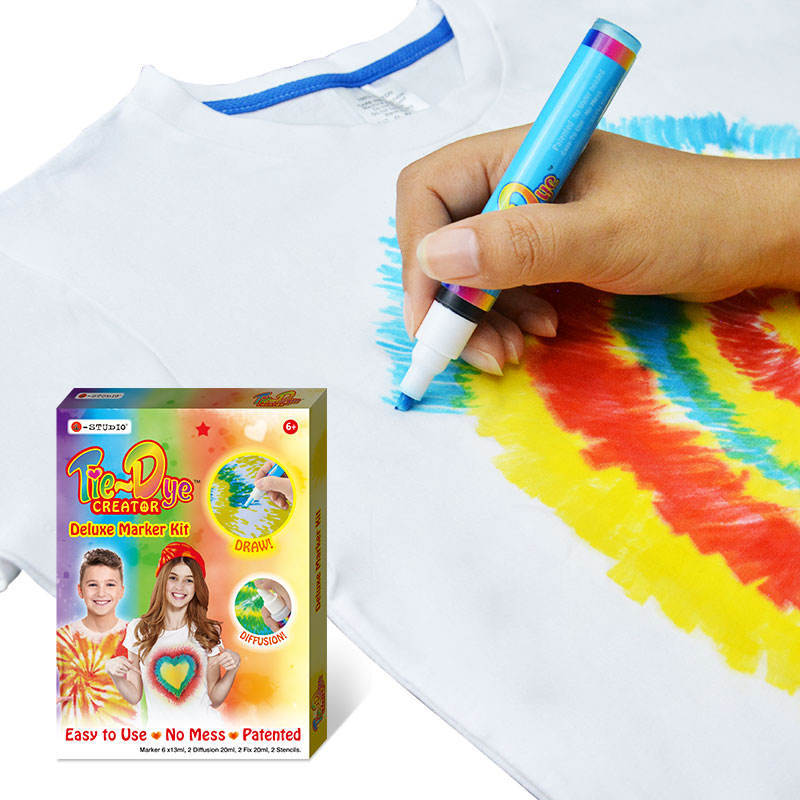 Best Seller Tie Dye Paint Kit Magic Drawing On Clothes Tie-Diy kit
