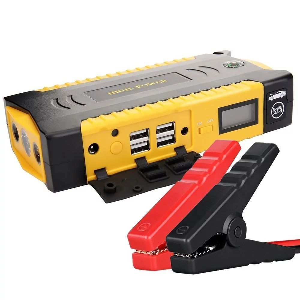 12v 17ah jump starter battery 12v version powerbank jumper 4USB Portable Emergency Battery Jump Starter with /Torch