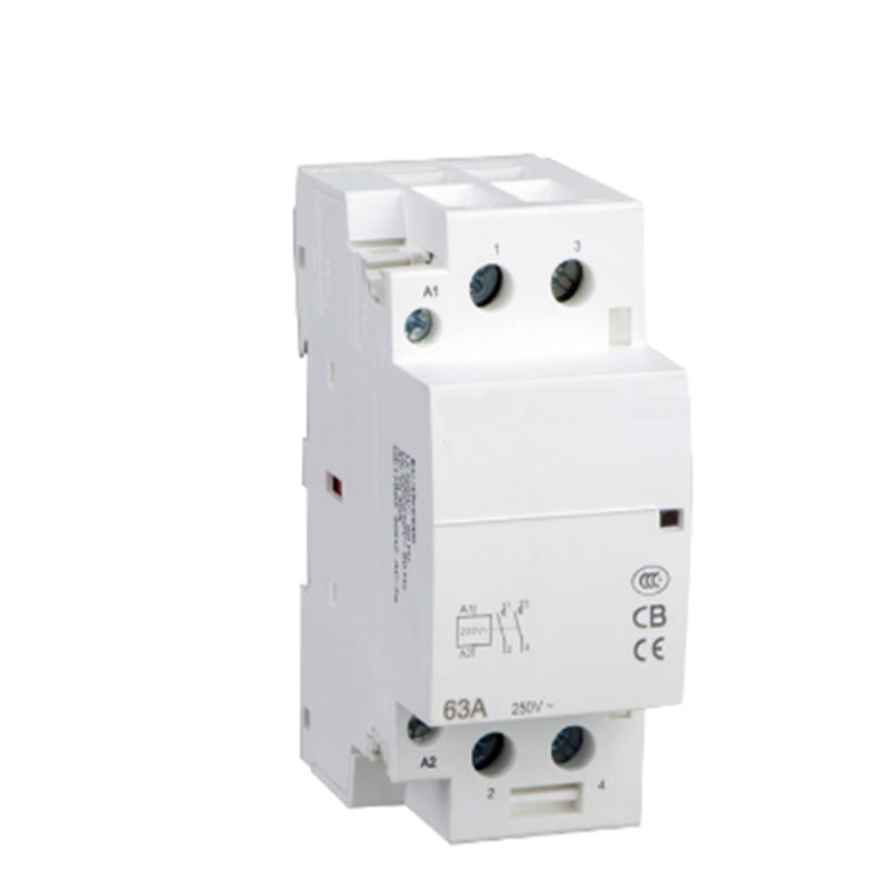 Din rail household AC contactor 63A 1NC 24V Household contact module Din Rail Modular contactor