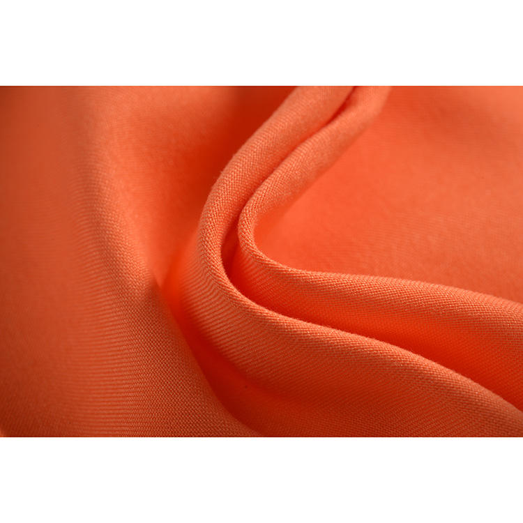 Fashion [ Fabric ] Fabric Polyester Satin Fashion Satin Back Polyester Bionic Finish Peached Skin Fabric For Clothes
