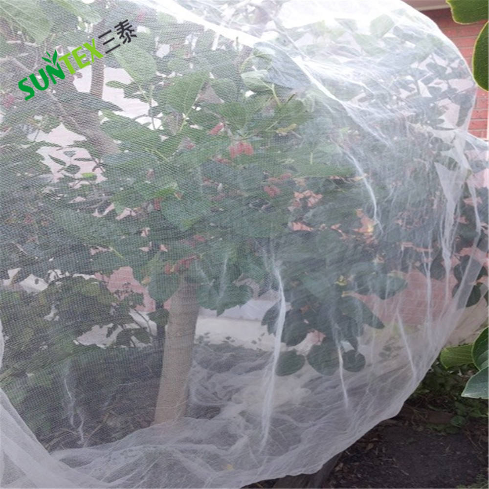 HDPE UV behandeld fruit fly net voor boom cover